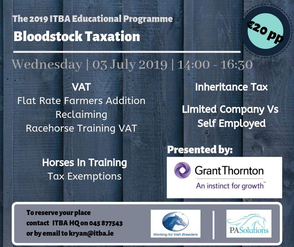 Bloodstock-Taxation