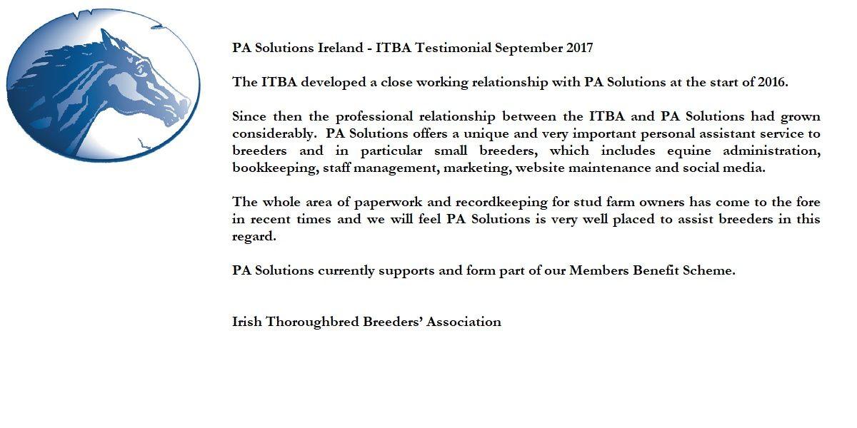 ITBA Testimonial